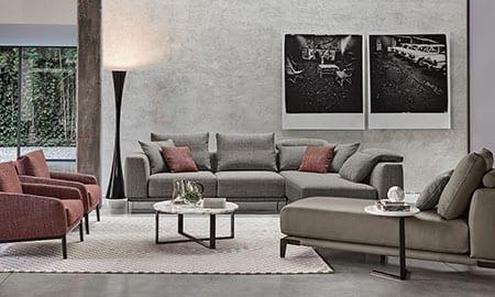 Divani di design rosini divani for Divani componibili moderni