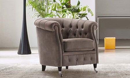 Poltrone in pelle rosini divani